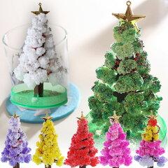 もこもこと葉っぱが育つキュートなクリスマスツリー♪【即納】マジッククリスマスツリー【MAGIC...