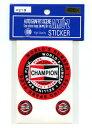 CHAMPION SPARK PLUGステッカーセット【チャンピオン USA 点...