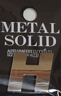 METALSOLIDエンブレムH