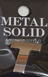 METALSOLIDエンブレムT