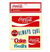 Coca・Cila(コカ・コーラ)ステッカー