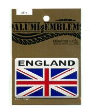 アルミエンブレムENGLAND国旗(イギリス)