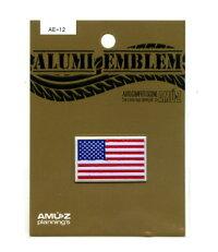 アルミエンブレムアメリカ国旗