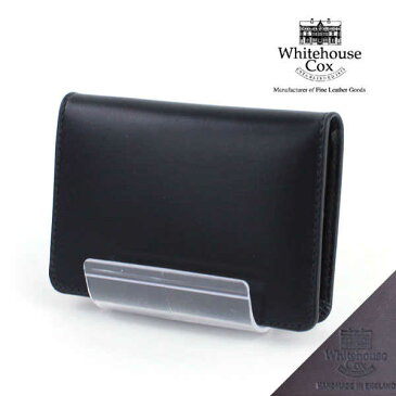 "Whitehouse Cox(ホワイトハウスコックス)ホースハイド 名刺入れ ""NAME CARD CASE(DERBY COLLECTION)""・S7412-D-1831801【小物】"