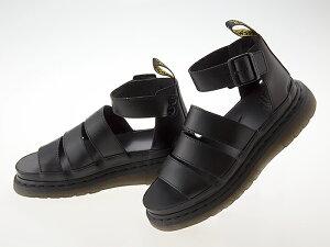 ドクターマーチン Dr.Martens CLARISSA II CHUNKY STRAP SANDAL クラリッサ 2 チャンキー ストラップ サンダル グラディエーター メンズ・レディースサイズ BLACK ブラック 黒 #24477001