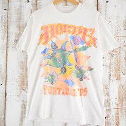 90'sHOKDEFESTIVAL'96ロックフェスTシャツ90年代バンドフェスティバル音楽ミュージシャン【古着】【ヴィンテージ】【中古】【メンズ店】