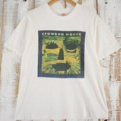 90'sCROWDEDHOUSEUSA製バンドツアーTシャツ90年代クラウデッドハウスオーストラリアロックバンドアメリカ製【古着】【ヴィンテージ】【中古】【メンズ店】