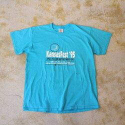 """90'sApple""""KansasFest'95""""TシャツXL90年代アップル企業Technology【古着】【ヴィンテージ】【中古】【メンズ店】"""