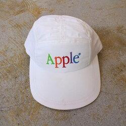 AppleUSA製ロゴ刺繍キャップ帽子アップル企業Technology【古着】【ヴィンテージ】【中古】【メンズ店】