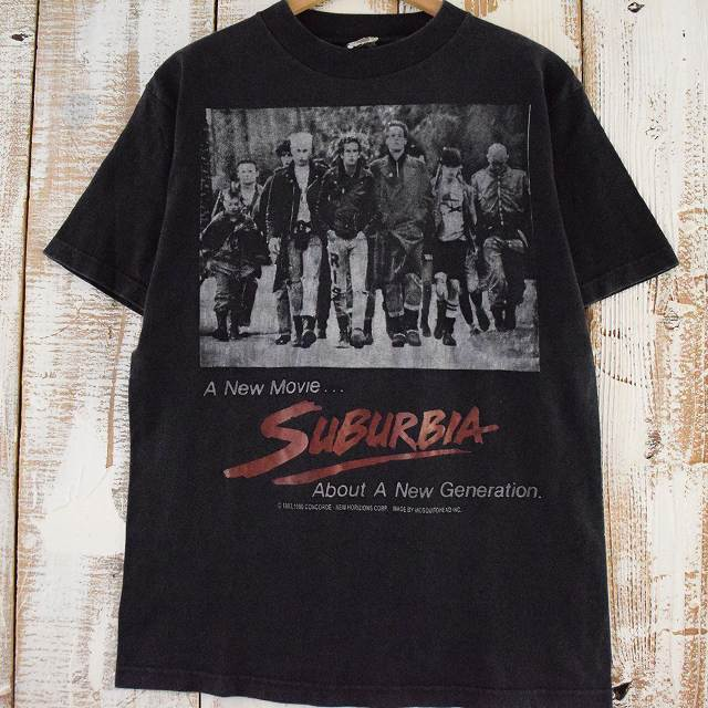 トップス, Tシャツ・カットソー 90s Mosquitohead SUBURBIA USA punk movie T-shirt 90