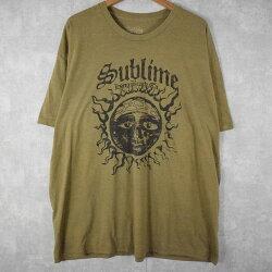 2010'sSUBLIMEロックバンドTシャツ2010年代サブライムバンドTシャツバンTベージュ【古着】【ヴィンテージ】【中古】【メンズ店】