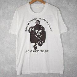 80'sマラソンイベントプリントTシャツXL80年代マラソンイベント協賛企業プリントTシャツ【古着】【ヴィンテージ】【中古】【メンズ店】