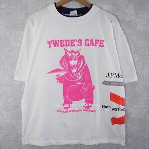 90'sUSA製試し刷りロゴプリントTシャツDEADSTOCKL90年代アメリカ製大判マルチ【古着】【ヴィンテージ】【中古】【メンズ店】