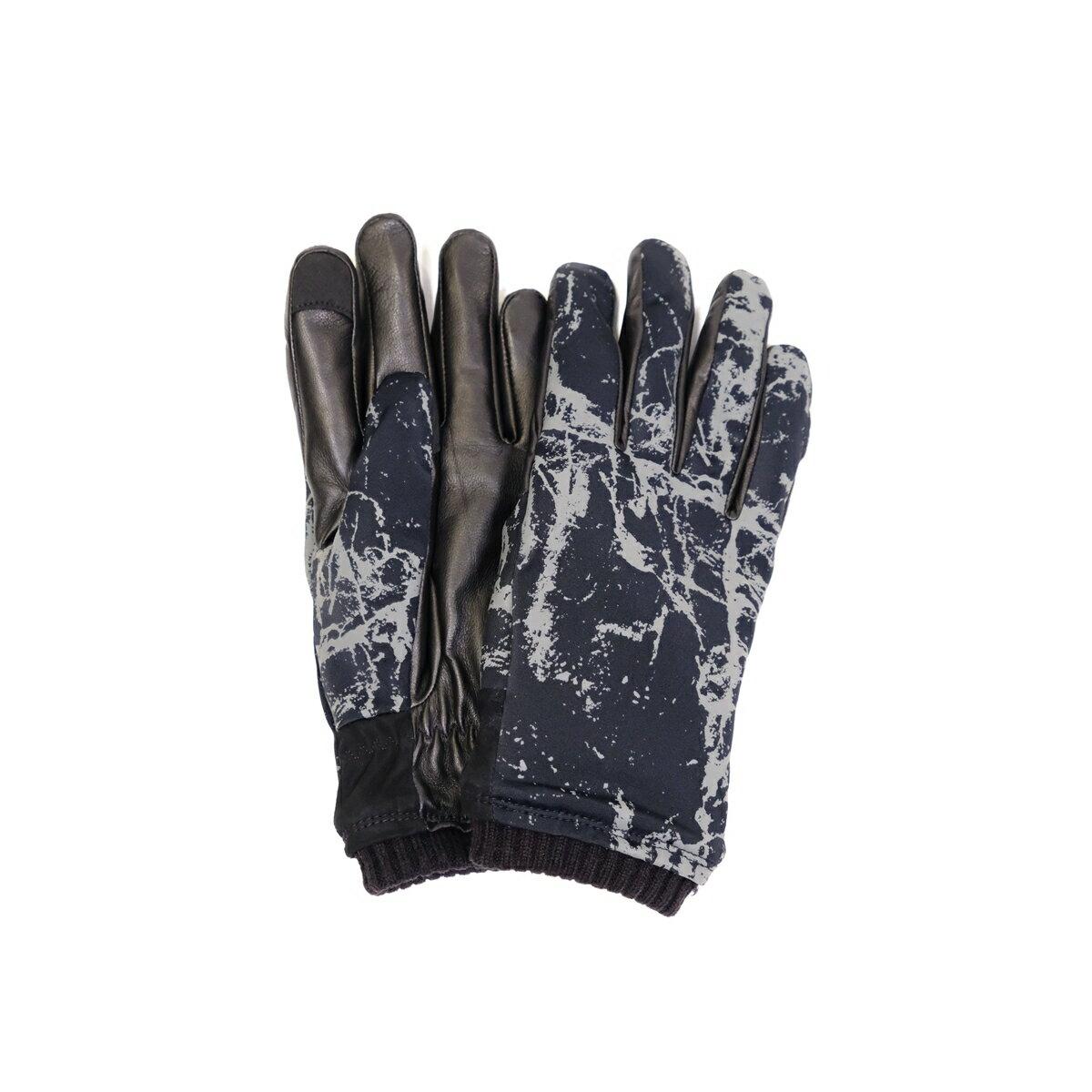 手袋・アームウォーマー, メンズ手袋 HONNS LOGAN MARBLE (BLACK) 503-73903 GLOVE