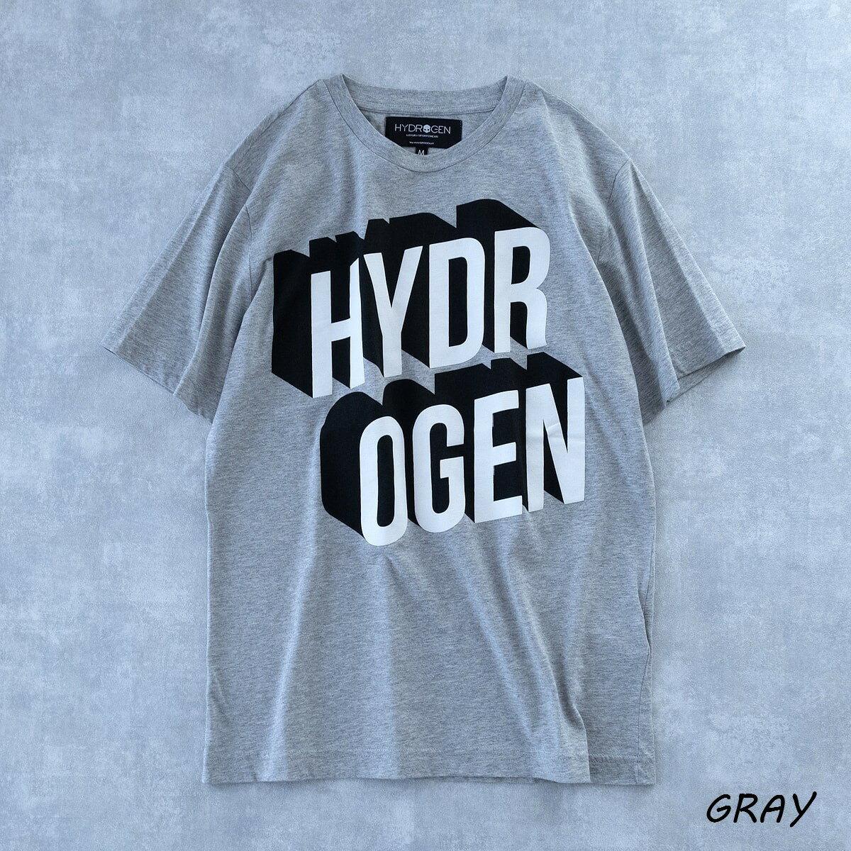 トップス, Tシャツ・カットソー SALE 20OFF HYDROGEN 80s T-SHIRT (2 GRAYBLACK) 210-60441001 T