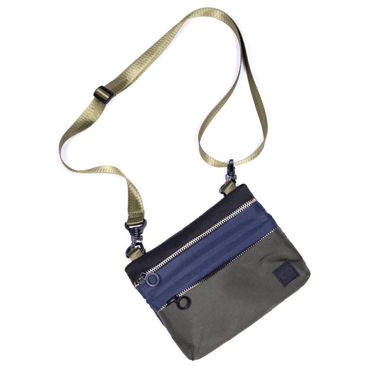 メンズバッグ, ショルダーバッグ・メッセンジャーバッグ C6 Diazene Messenger Bag (Multi) C2069 RePET