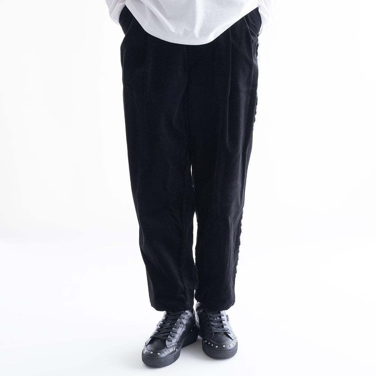 メンズファッション, ズボン・パンツ SALE 40OFF DISCOVERED BRISBANE MOSSPANTS (BLACK) DC-AW19-PT-02