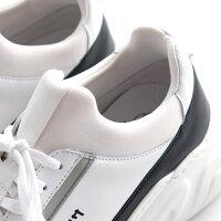 プラスツバサメロメロ(WHITE他3色)MERO-MERO+TSUBASAネオプレーンダッドスニーカーカーフレザーコンビプラットフォーム厚底スニーカーポルトガルメンズ送料無料