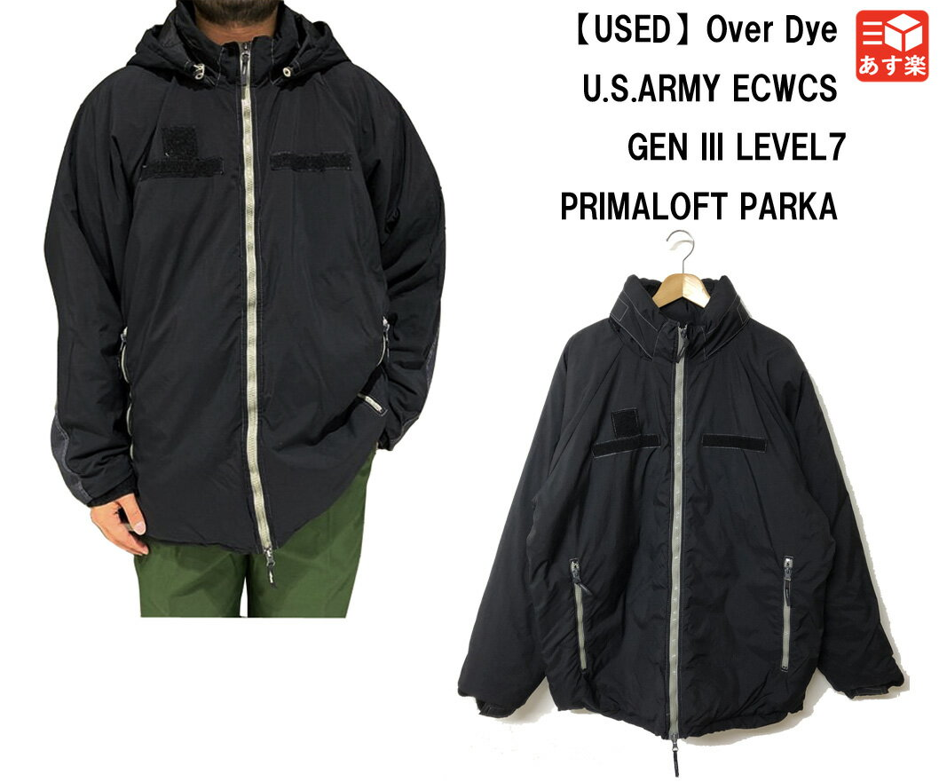 メンズファッション, コート・ジャケット 50 413 12U.S.ARMY ECWCS GEN III LEVEL7 PRIMALOFT PARKA Over Dye MEDIUM-REGULAR,LARGE-LONG mellow