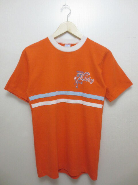 トップス, Tシャツ・カットソー 70s Champion MINNESOTA Kicks T Made in U.S.A MEDIUMmellow
