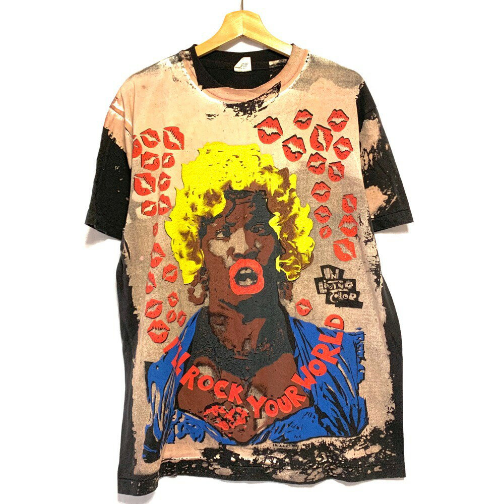 【ゆうパケット対応】モスキートヘッド風 ジェイミー・フォックス Jamie Foxx In Living Color Tシャツ サイズ:L, XL ブラック【新品】 新品 mellow 【古着屋mellow楽天市場店】