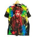 【ゆうパケット対応】モスキートヘッド風 ジミ・ヘンドリックス ジミヘン Jimi Hendrix Tシャツ サイズ:L, XL ブラック【新品】 新品 mellow 【古着屋mellow楽天市場店】