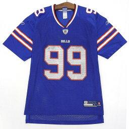 NFL Buffalo Bills/バッファロービルズ メッシュ フットボールジャージ 半袖 サイズ:L ブルー 【古着】 古着 【中古】 中古 mellow 【あす楽対応】【古着屋mellow楽天市場店】