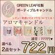 アロマキャンドル GREEN LEAF(グリーンリーフ)選べる 2点 セット【アロマ付き】▼▲ロウソク/蝋燭/ろうそく/アロマテラピー/アロマセラピー/ろうそく 長時間/キャンドル アロマ/キャンドル 長時間/キャンドル ギフト...5002014