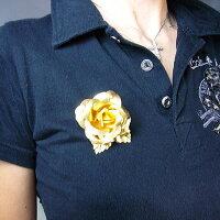 純金の薔薇(バラ)純金のカーネーション純金証明書付き