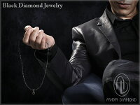 ブラックダイヤモンド1.0ctグレースピネル合計51ctネックレス