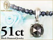ブラックダイヤモン グレースピネル ネックレス ダイヤモンド