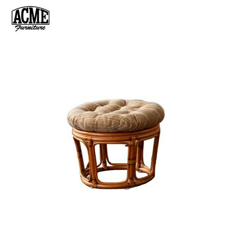 ACME Furniture(アクメファニチャー)WICKER EASY STOOL(ウィッカーイージースツール・ブラウン)