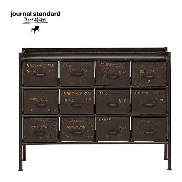 【次回4-5月入荷予定】journal standard Furniture(ジャーナルスタンダードファニチャー)GUIDEL 12DRAWERS CHEST WIDE(ギデル12ドロワーチェスト・ワイド)