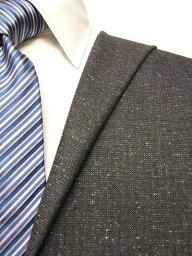 ロイヤルステージ グレー系 織柄 オーダースーツ 秋冬用素材 ウール85% シルク15% 5cc020 【RCP】
