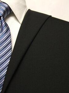 ファーストコレクション ブラック系 無地 オーダースーツ 春夏用素材 ウール52% ポリ48% 02411-72【RCP】