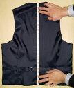 オーダースーツのフェローズで買える「サイズ&デザイン情報入力画面(ベスト」の画像です。価格は1円になります。