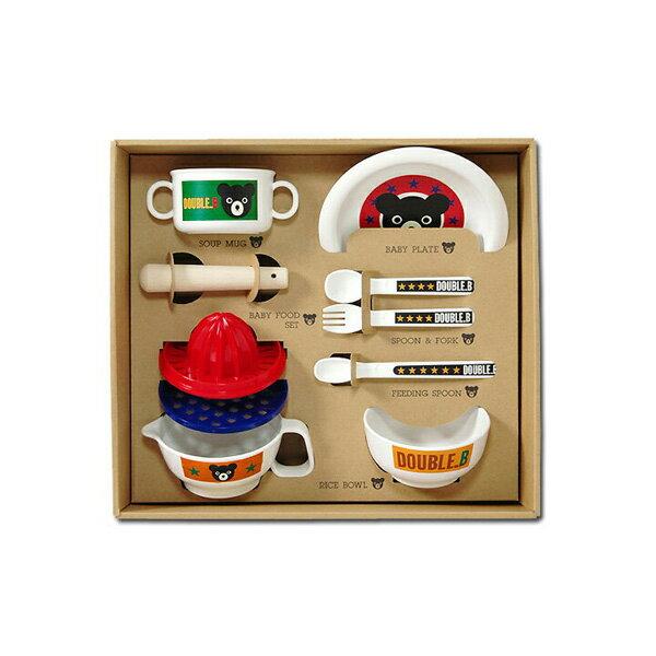 miki HOUSE/ミキハウス DOUBLE_B ベビー食器セット