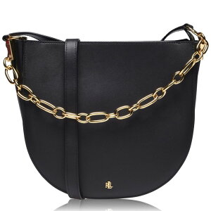 राल्फ लॉरेन लेडीज शोल्डर बैग बैग [मध्यम कंधे चा बैग] ब्लैक द्वारा राल्फ लॉरेन लॉरेन
