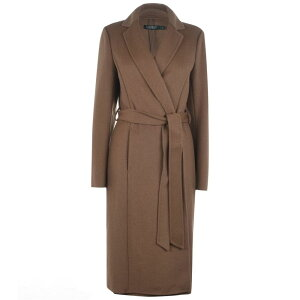 ラルフ ローレン Lauren by Ralph Lauren レディース コート アウター【LRL Df Wool WrapCoat】Dark Camel