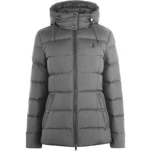 Polo Ralph Lauren Women's Down/Batting Jacket Outerwear [puffer jacket] Combat Gray
