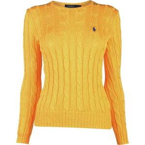 Polo Ralph Lauren Ladies Knit Sweater Tops [julianna knit] Gold