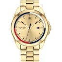トミー ヒルフィガー Tommy Hilfiger メンズ 腕時計 【TH Riley Brc Sn00】Gold/Gold
