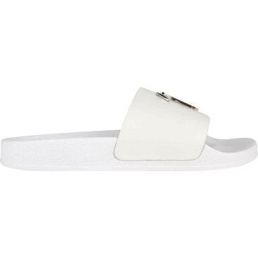 ジュゼッペ ザノッティ GIUSEPPE ZANOTTI メンズ サンダル シャワーサンダル シューズ・靴【Nikel Logo Sliders】White