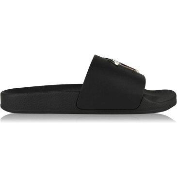 ジュゼッペ ザノッティ GIUSEPPE ZANOTTI メンズ サンダル シャワーサンダル シューズ・靴【Nikel Logo Sliders】Black