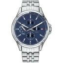 トミー ヒルフィガー Tommy Hilfiger メンズ 腕時計 【Shawn Watch】Silver/Blue