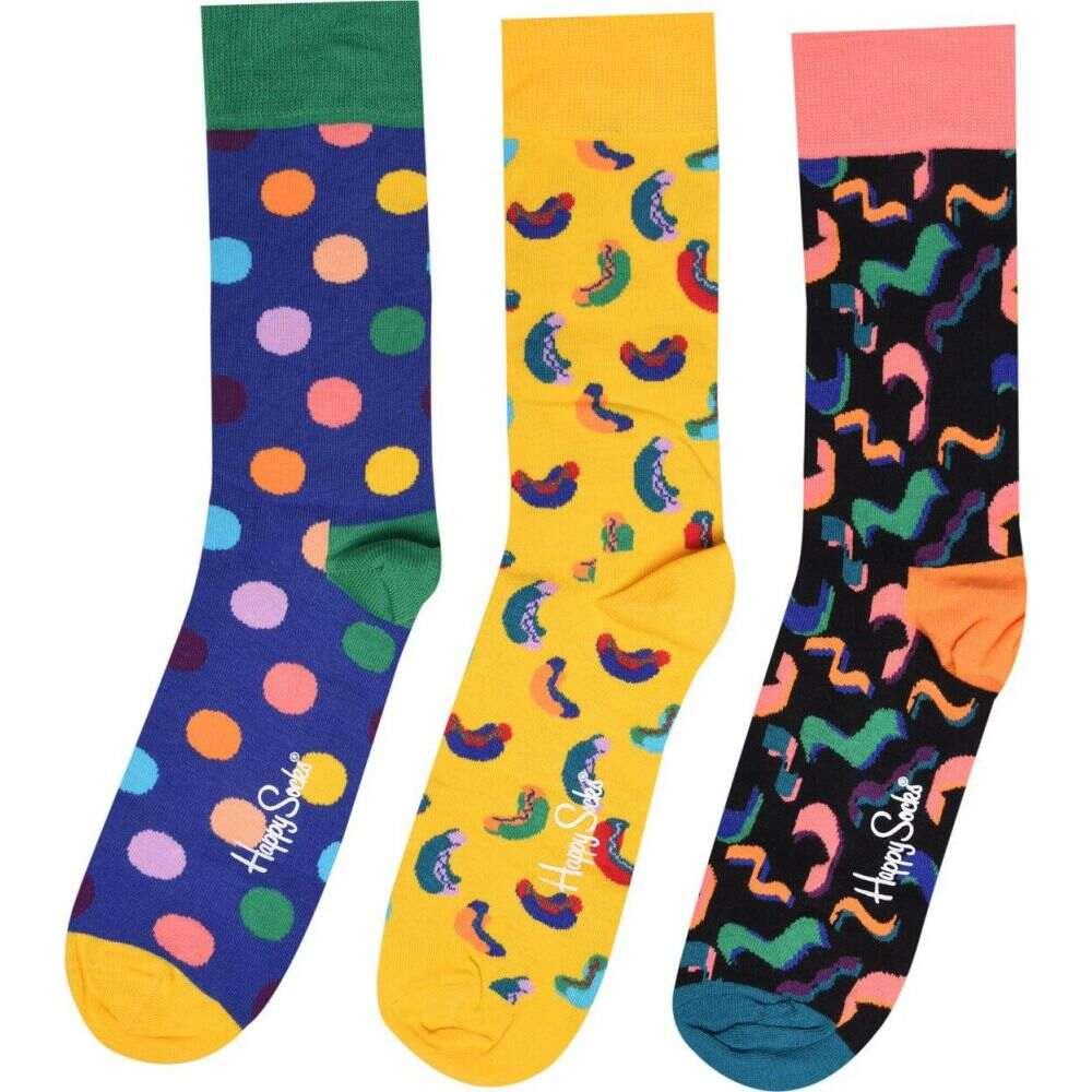 靴下・レッグウェア, 靴下  Happy Socks Happy Gbox3Bdaysn94Multi