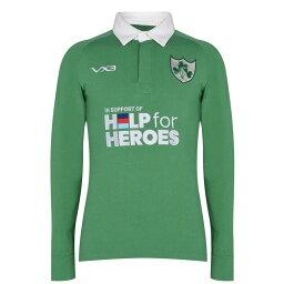 VX-3 メンズ トップス 【Help 4 Heroes Ireland Long Sleeve Jersey】Green