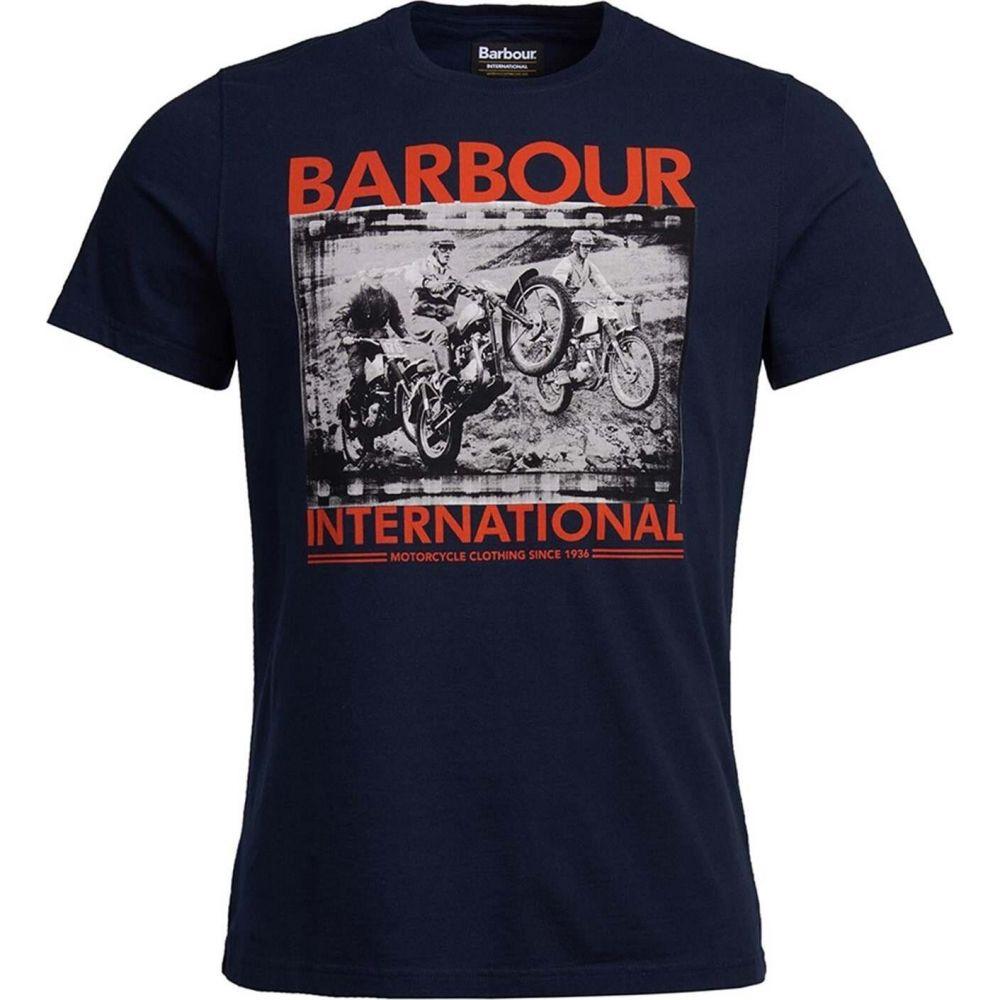メンズファッション, その他  Barbour International Archive Back ShirtNavy