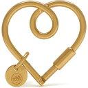 マルベリー MULBERRY レディース キーホルダー キーリング【Looped Heart Keyring】New Brass