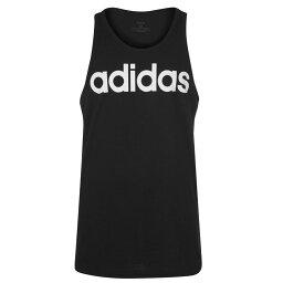 アディダス adidas メンズ タンクトップ トップス【Graphic Tank Top】Black/White